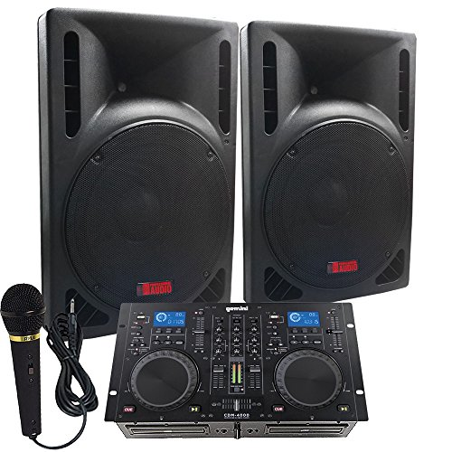 - Starter Dj System - 1600 WATTS - Connect your Laptop, iPod, USB, MP3's or Cd's! 10
