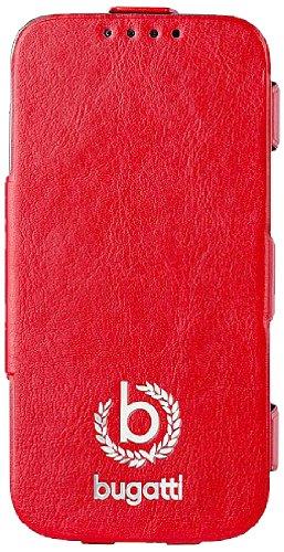Bugatti Geneva UltraThin Book Case für Samsung Galaxy S4 mini rot