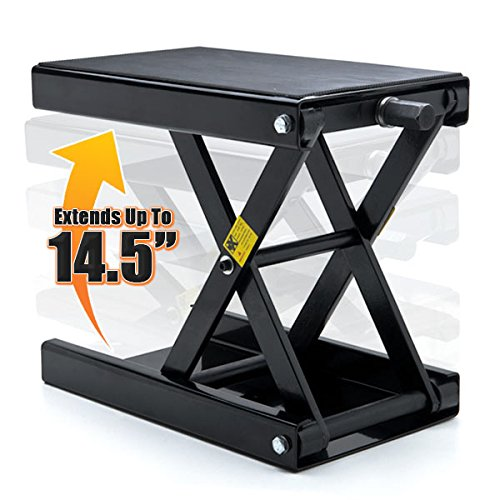 Venom Motorcycle Center Jack Hoist Scissor Lift Stand For Suzuki Burgman Moped Shuttle FA50 FZ50
