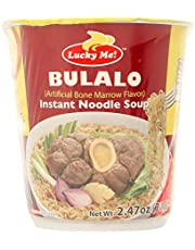Lucky Me Instant Noodle Cup BULALO Artificial Bone Marrow Flavour, 70 g