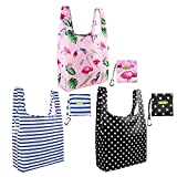 Grocery Bag Reusable Bags for Shopping Tote Bag Nylon Mixed Bags Designs Gift Bags Bulk
