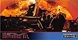 Los Angeles Tunnel Fire Ball Scene 4 trading card Independence Day ID4 1996 Topps #38
