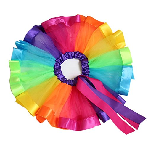 BGFKS Tulle Rainbow Tutu Skirt for Newborn Baby Girls Photography Outfit Sets Baby Girls 1st Birthda - http://coolthings.us