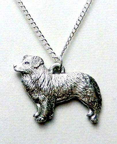 - Border Collie Dog Necklace (1531)