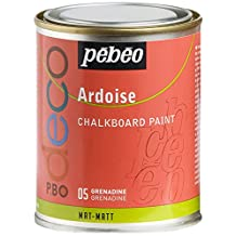 Pebeo 250 ml Deco Chalkboard Paint, Grenadine by Pebeo