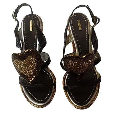 Massimo Dogna High Heel Shoe (Size 36) [Brown]