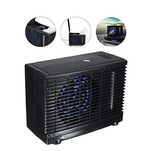 ACUMSTE Car Air Conditioner Fan, 12V Portable Car Cooler Cooling Fan Water Ice Evaporative Car Truck Home by ACUMSTE