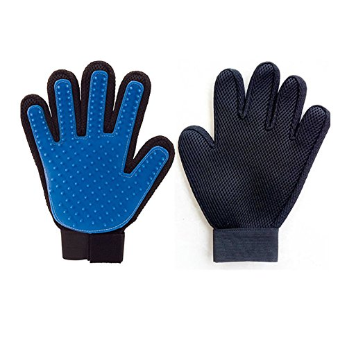 Ksmxos 2-in-1 Pet Glove: Grooming Tool + Furniture Pet Hair Remover - For Cat & Dog - Long & Short Fur - Gentle Brush - Your Pet Will Love - Canada Wetsuits Kids