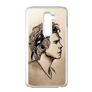 LG G2 Phone Case White Harry Styles MN6609433