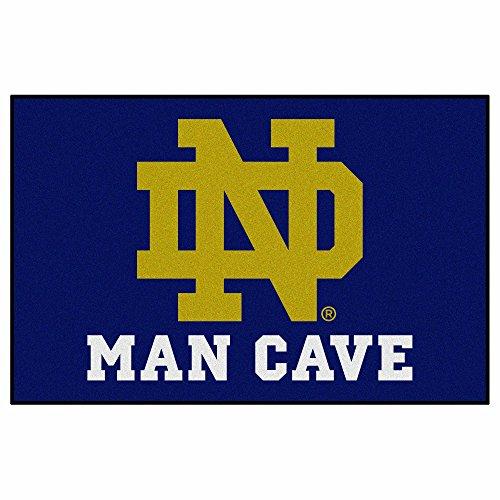Notre Dame Starter - Fanmats 14580 Notre Dame Nylon Universal Man Cave Starter Rug