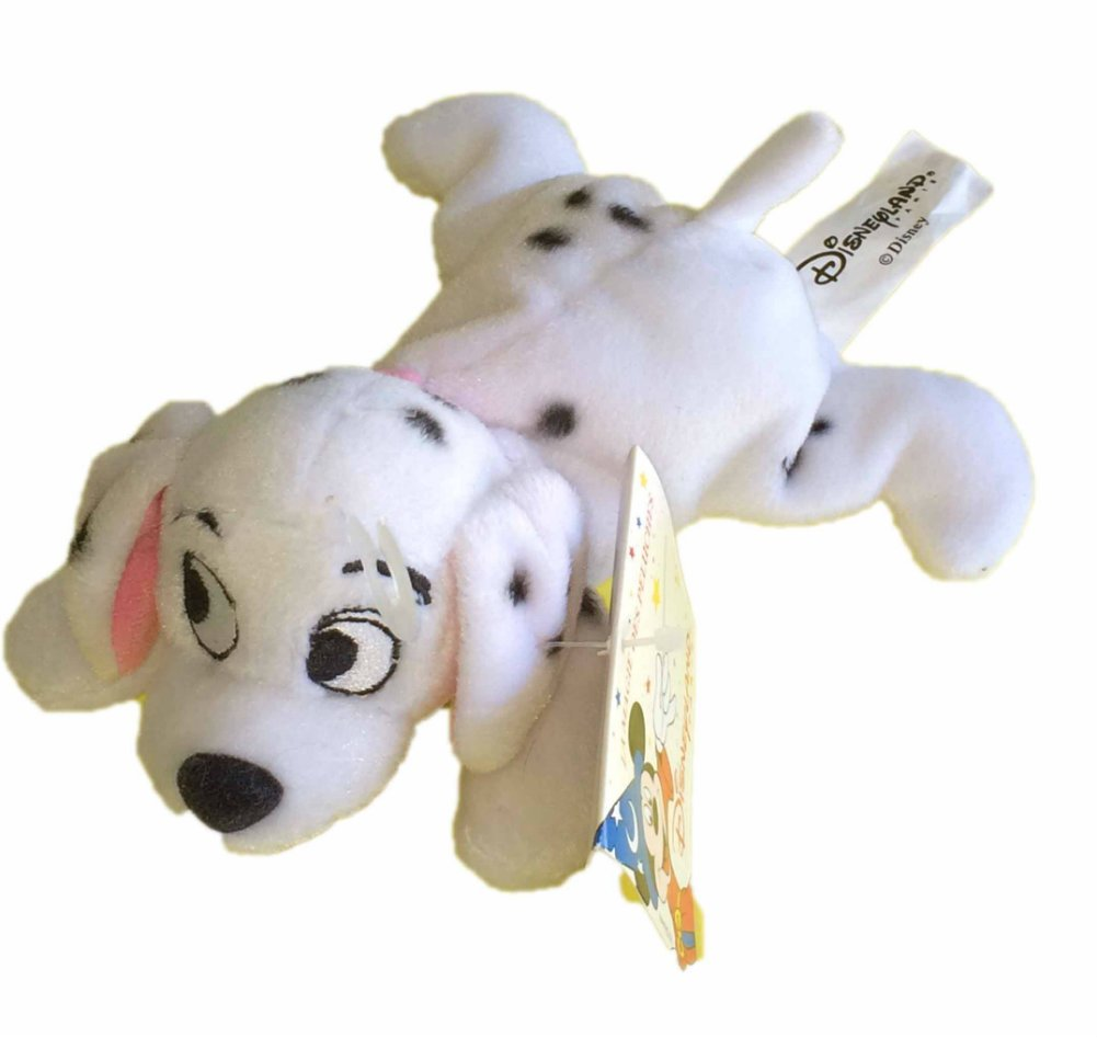 Amazon.com: Disneyland Paris Mini Peluche Penny Rose 101 Dalmatians Bean Bag Plush: Toys & Games