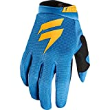 Shift 2018 Youth White Label Air Gloves (SMALL) (ORANGE/BLUE)