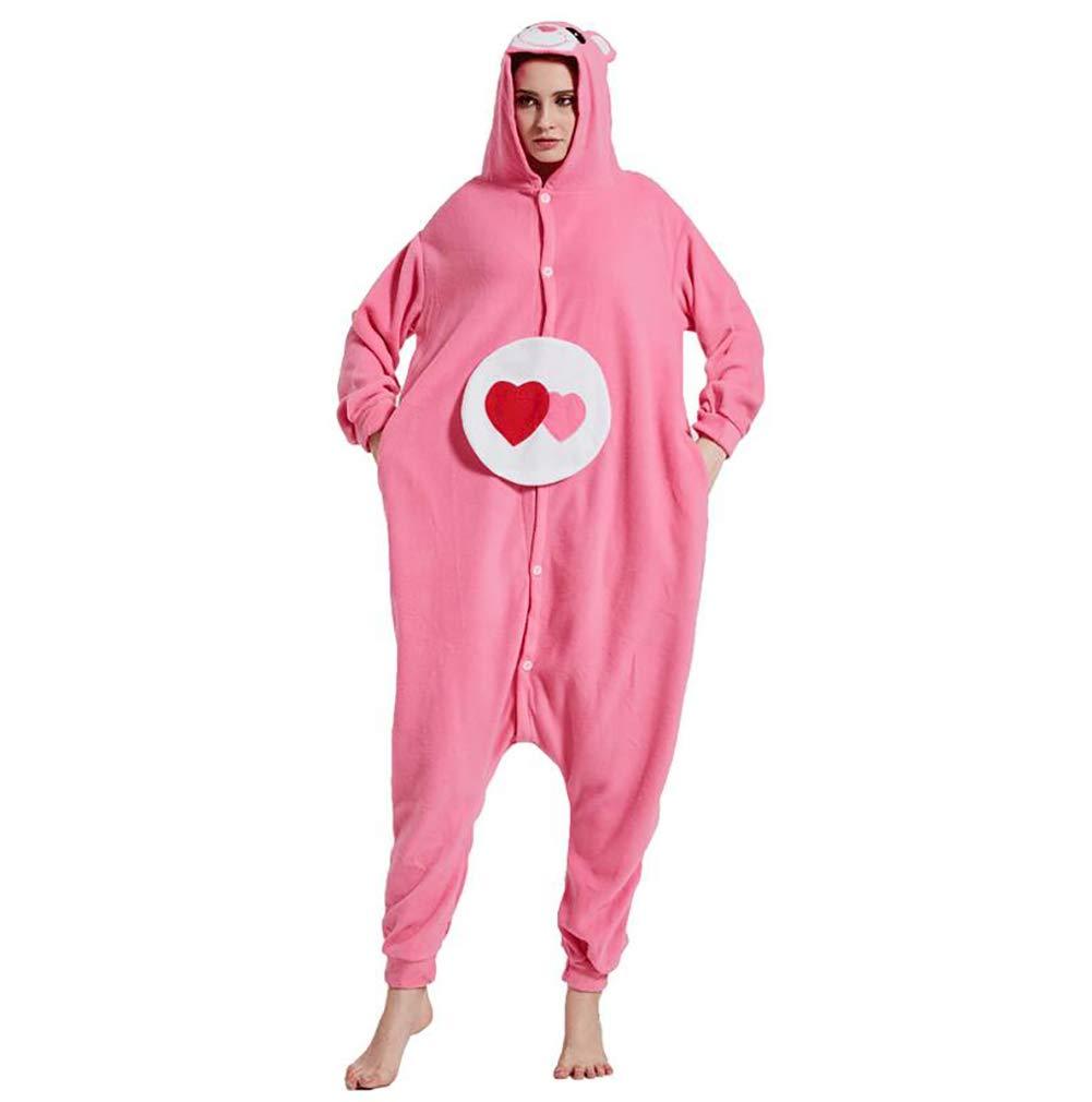9f38c0c891 Amazon.com: SHANGXIAN Adult Onesie Bear Pajamas Kigurumi Animal Cosplay  Costume Winter Warm Soft Couple Sleepwear,S: Home & Kitchen