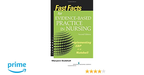 Fast facts for evidence based practice in nursing second edition fast facts for evidence based practice in nursing second edition implementing ebp in a nutshell volume 2 9780826194060 medicine health science books fandeluxe Image collections