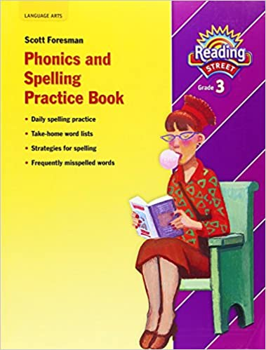READING 2007 SPELLING PRACTICE BOOK GRADE 3