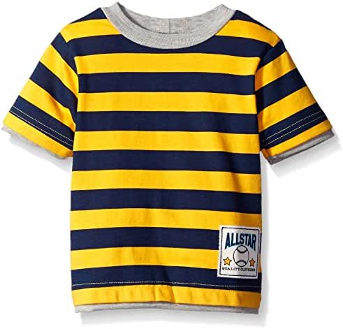 Gerber Graduates Baby Boys' Striped Short Sleeve T-Shirt