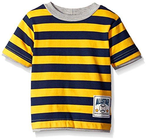 Gerber Graduates Striped Sleeve T Shirt