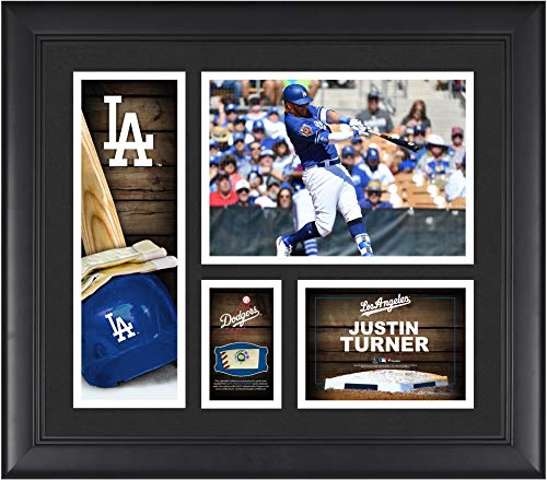 Justin Turner Los Angeles Dodgers Framed 15