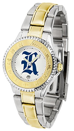 Rice Owls Competitor Watch - Rice Owls Competitor Two-Tone Women's Watch