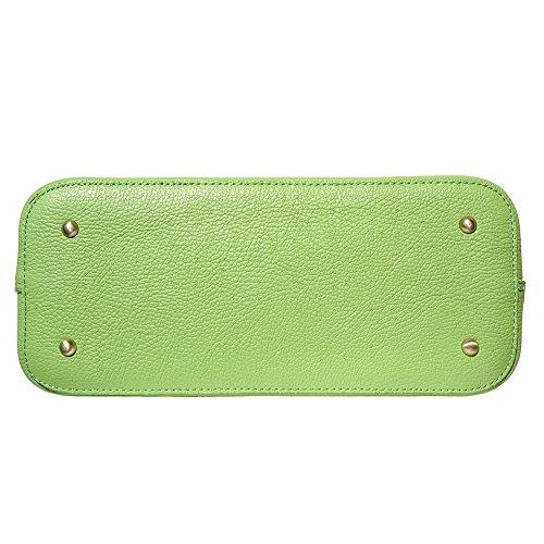 Mano Chiaro A Bowling Borsa 9130 Florence Leather Market Verde Xw8n4T