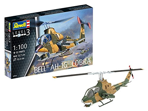 Revell Germany Bek AH-1G Cobra Model Kit Building