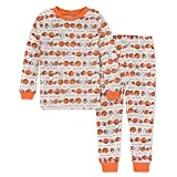 Burt's Bees Baby Baby Girls' Pajamas, Tee and Pant 2-Piece Pj Set, 100% Organic Cotton, Eyes on The Pies, 24 Months