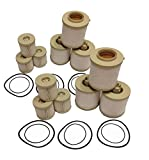 Ford 6.0L 2003-2007 FD-4604 Diesel Fuel Filter 6 Pack includes lower lifter pump filter and upper fuel bowl filter ADT-60-FD-4604 Ford F250 F350 F450 F550 F650 EXCURSION FD-4604 Replacements