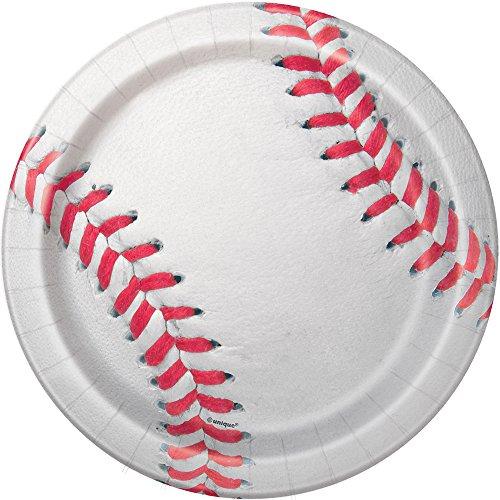Baseball Dessert Plates,