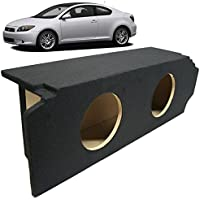 2005-2010 Scion TC Coupe Custom Fit Dual 12 Subwoofer Enclosure Sealed Sub Box