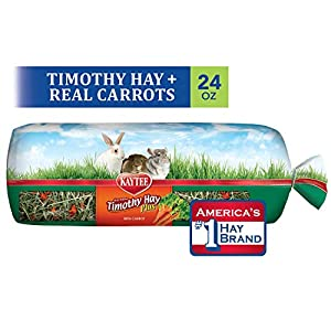 Kaytee Timothy Hay for Rabbits & Small Animals, Assorted Flavors, 24 oz Bag 1
