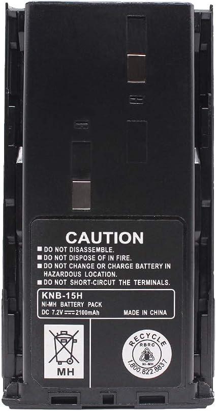 Charger for Kenwood KNB-15 TK-278 KNB-14 TK-372G TK-3102 KNB-14A