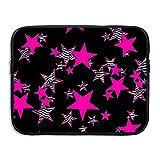 Best Case star Pink Laptops - Laptop Sleeve Bag Zebra Pink Stars Cover Computer Review