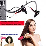 Gaobei Hands Free hairdryer stand, Rolling freely Hair Dryer...