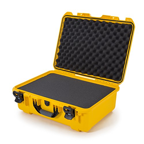 Nanuk 940 Waterproof Hard Case with Foam Insert - Yellow