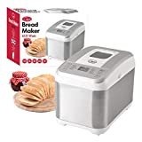 Quest Benross 12 Program Bread Maker with 13 Hour Timer, 610 W, White