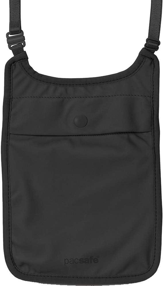 Pacsafe Coversafe S75 Anti-Theft Secret Neck Pouch Black