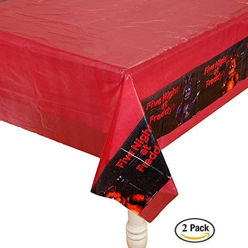 Forum Novelties Five Nights at Freddy's Tablecover, 2 Pack