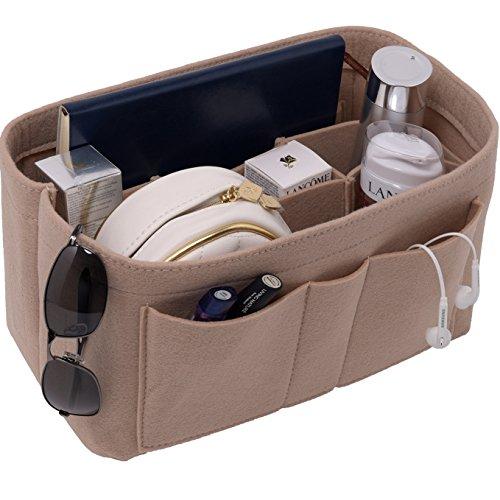Felt(3MM) Fabric Purse Organizer Insert for Purse Handbag Tote Bag, 3 Sizes, 8 (Felt Purse)