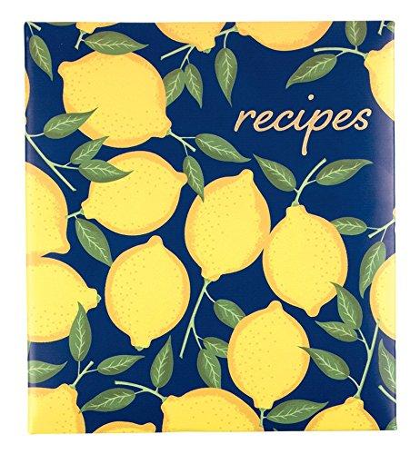 Eccolo World Traveler Recipe Keeper, Lemons ()