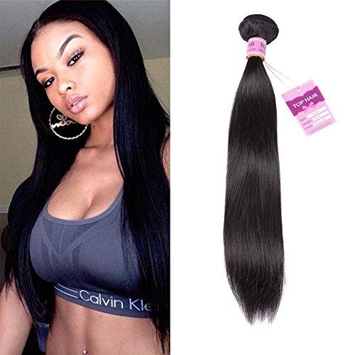 Prime Top Quality 8A Peruvian Virgin Hair Straight 18Inch Peruvian Straight Hair 100% Unprocessed Human Hair Weave Peruvian Hair Weave Bundle ...