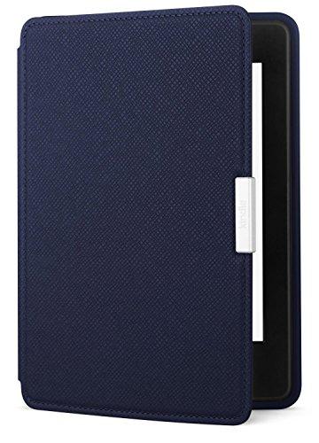 Estuche de cuero para Amazon Kindle Paperwhite, tinta azul: se adapta a todas las generaciones de Paperwhite anteriores a 2018 (no se ajustará a la 10ª generación de Paperwhite totalmente nueva)