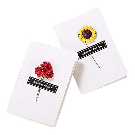 Amazon.com: Chiak 5 tarjetas de San Valentín, tarjetas de ...