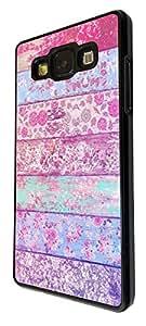 1177 - Floral Shabby Chic Roses Fleurs Multi Art Design For Samsung Galaxy J1 Fashion Trend CASE Back COVER Plastic&Thin Metal - Black