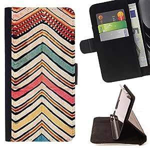 "For Samsung Galaxy J3(2016) J320F J320P J320M J320Y,S-type Patrón Pintura Arte tribal"" - Dibujo PU billetera de cuero Funda Case Caso de la piel de la bolsa protectora"