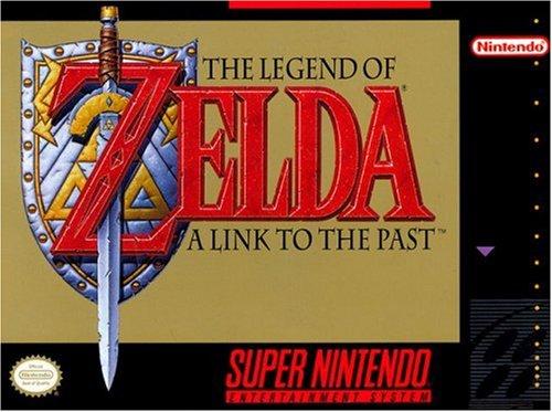 Legend Zelda Link Past Super Nintendo