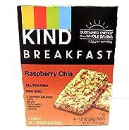 KIND Breakfast Bar Raspberry Chia - 4 CT