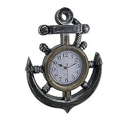 Nautical Anchor Design Wall Clock