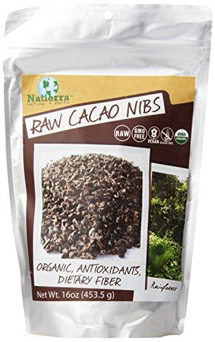 Natierra premières Cacao Nibs, 16 onces