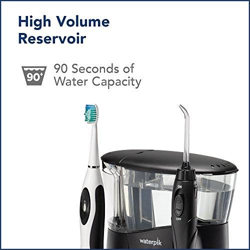 Waterpik WP-952 Complete Care 7.0 Water Flosser and Sonic Tooth Brush, Black by Waterpik (Image #7)