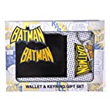 Batman Wallet and Keychain Set